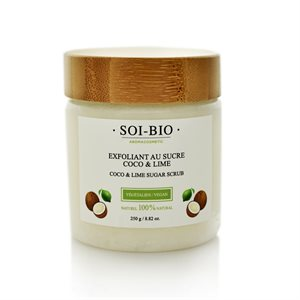 Exfoliant Sucre Coco & Lime
